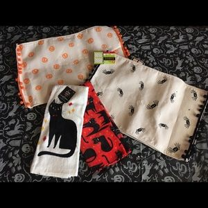 Halloween Placemats and Hand Towels